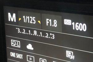 カメラの液晶画面の図