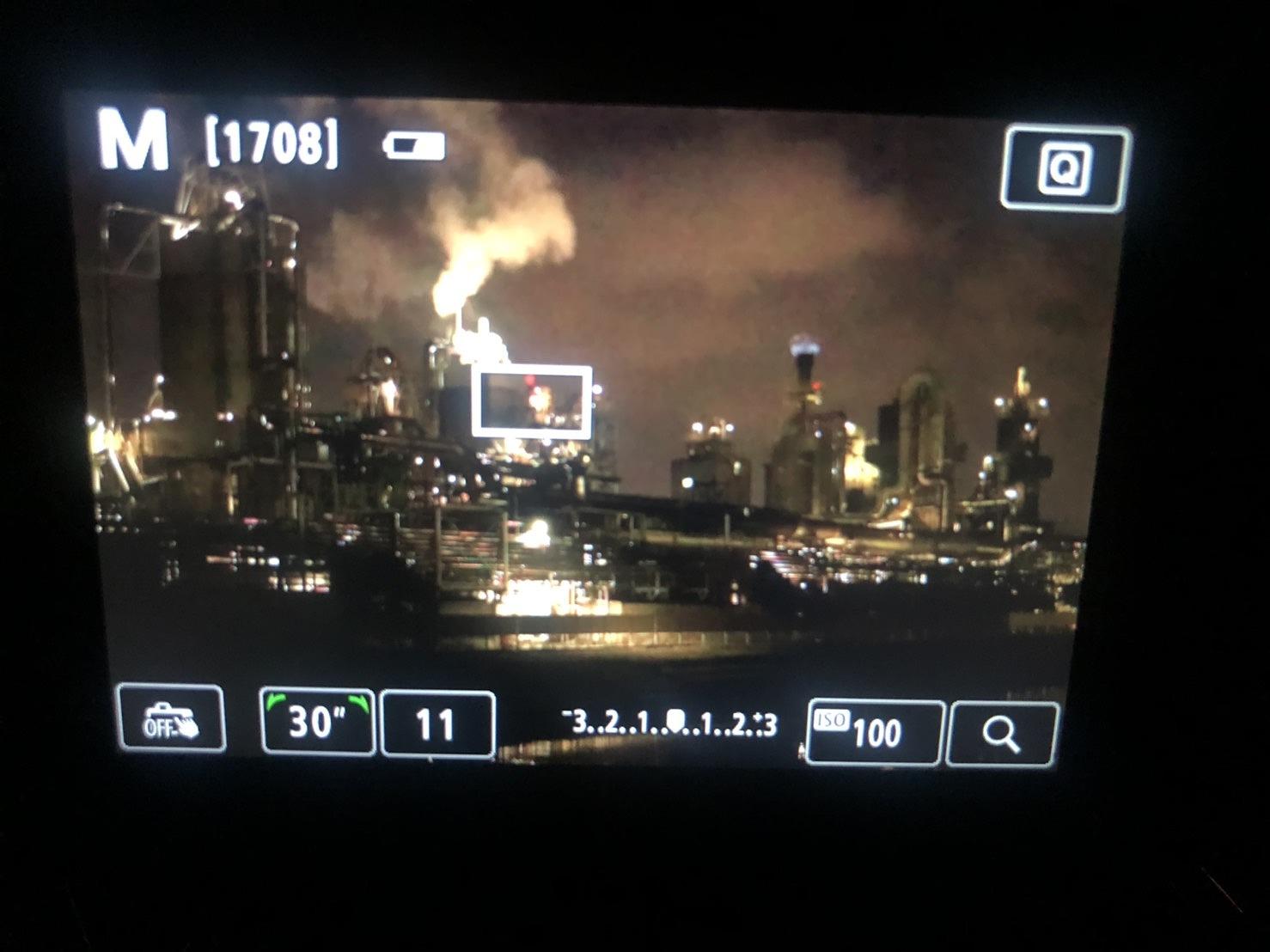 工場夜景の撮り方2