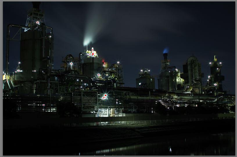 現像前(工場夜景)