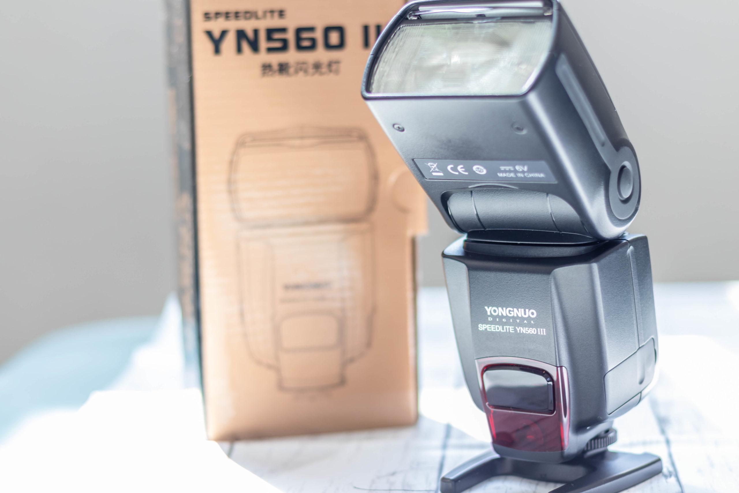 YONGNUO YN560 III Speedlight 正面
