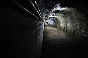 筒石駅の階段